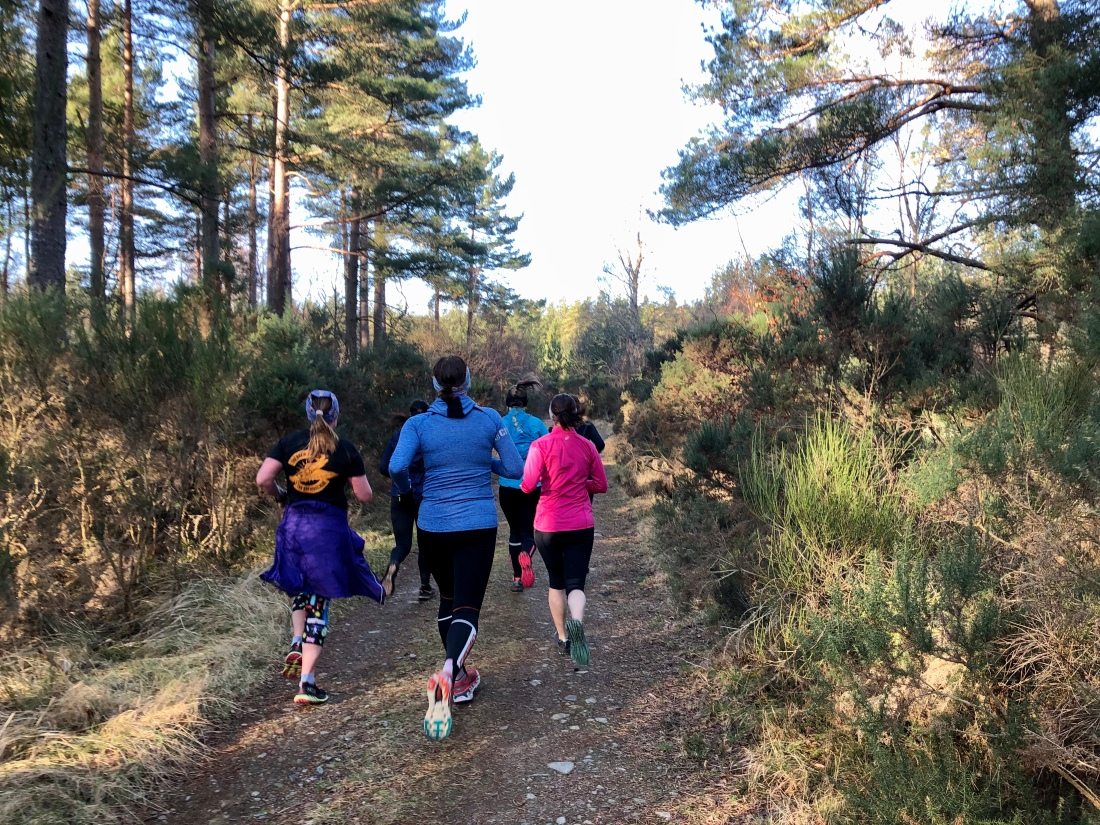 Metro Aberdeen Running Club: Ladies Trail Run, Scolty Hill